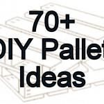 70+ Pallet - Craft Projects Collection ~ Takes you directly to a wonderful site. It has pictures of each project and instructions!