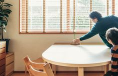 haluta × artek 別注カラーテーブル