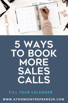 5 Ways To Book More Sales Calls Pinterest Business Motivation, Business Tips, Online Business, Getting To Know Someone, How To Use Facebook, Early Retirement, Successful People, Best Relationship, Inspire Others