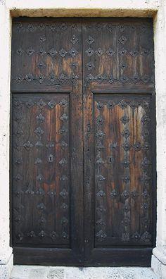 Door with a long history, Santo Domingo, Dominican Republic