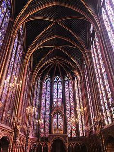 Saint Chapelle    Paris, France