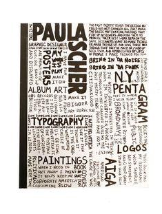 Risultati immagini per paula scher sketch Paula Scher, Design Fields, Sketch Design, Book Cover Design, Typography Design, Retro, The Past, Graphic Design, How To Make