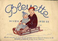 Bleuette, the popular French antique/vintage doll of La Semaine de Suzette and Gautier-Languereau Vintage Poster, Vintage Postcards, Vintage Images, Illustration Française, Illustrations, Antique Dolls, Vintage Dolls, Rue Jacob Paris, Modern Dollhouse Furniture
