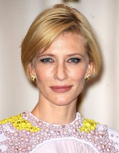 Cate Blanchett, les cheveux courts