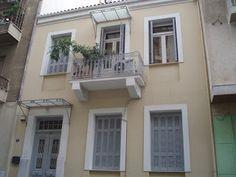 Πίσω στα παλιά : Παλιά σπίτια στα Πατήσια Windows, Ideas, Window, Ramen