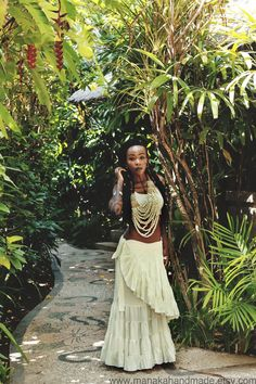 Flamenco Ruffled Wrap Skirt by manakahandmade on Etsy