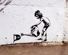 Awesome street art, urban art & world graffiti art from some amazing urban artists Banksy Graffiti, Street Art Graffiti, Street Art Utopia, Bansky, Banksy Artwork, Graffiti Girl, Amazing Street Art, Amazing Art, Street Art Love