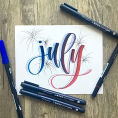 Yay for July!