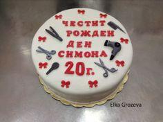 "Elij-Cooking: Торта""Фризьорски салон"""