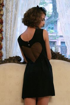 """If only I had a heart"" dress by Alexandra Grecco $150"