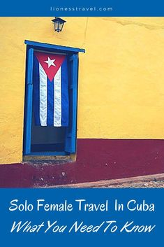 Looking to travel to Cuba solo? Everything you need to know for your first trip to Cuba as a solo female traveler. What women should know before heading to Cuba.