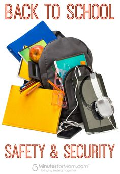 Back to School Safety and Security Tips