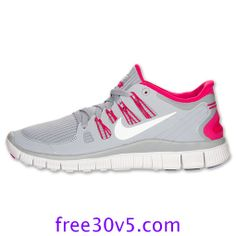 freerunsstore2013.com for Half off Nike Frees,Nike Free 5.0 Womens Wolf Grey White Pink Force 580591 061, Pink Sneakers For Womens      Pink Shoes over 63% off