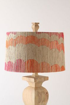 Project 3: Coral Rays Shade #anthropologie