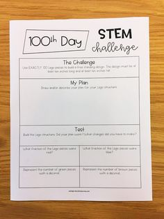 100th Day of School - Ashleigh's Education Journey