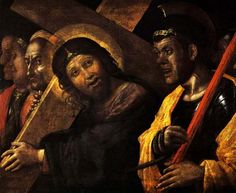 Christ Carrying the Cross - Andrea Mantegna