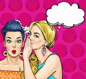 Pop Art Illustration Of Girl With The Speech Bubble.Pop Art Girl.Party Invitation.Thinking Woman - Download From Over 53 Million High Quality Stock Photos, Images, Vectors. Sign up for FREE today. Image: 74169684