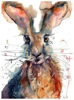 Brown Hare by Sarah Weyman