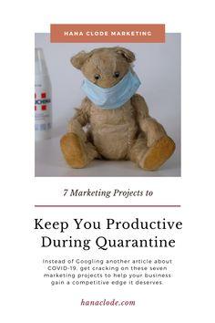 7 Marketing Projects to Keep You Productive During Quarantine - Hana Clode Inbound Marketing, Business Marketing, Email Marketing, Create Email Template, Email Templates, Marketing Program, Marketing Tools, Social Media Digital Marketing, Website Images