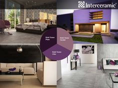 2013 Fall Color Trend: Purple   Plum, eggplant, lilac, lavender, violet, or orchid, as long as it can be considered a shade of purple it is hot for fall.   #interceramic #colortrend