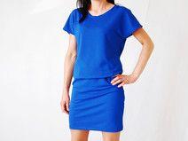 XXL | sukienka szafir SU2