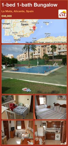 Bungalow for Sale in La Mata, Alicante, Spain with 1 bedroom, 1 bathroom - A Spanish Life