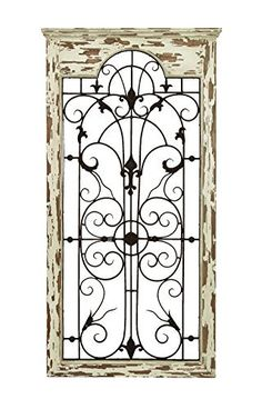 Metal Gate Wall Decor rusty and attractive wood metal wall panel | wood gate wall decor