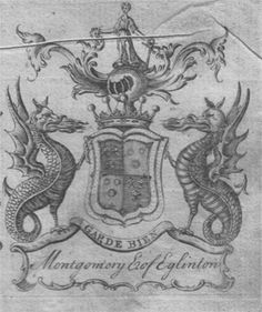 montgomery coat of arms William Cunningham, Le Clan, My Family History, Scottish Clans, My Ancestors, Family Crest, Crests, Coat Of Arms, Old Things