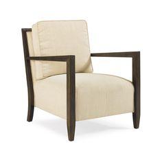 Finch Contemporary Arm Chair Cream - Max Sparrow