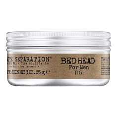 TIGI Bed Head B for Men Matte Separation Workable Wax, 3 ...