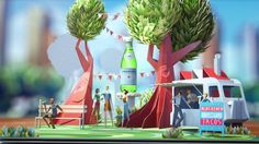 Along with Ogilvy New York & Hornet Inc, Parallel directed and designed the San Pellegrino's latest spot.   Director : Parallel Co-production : Hornet / Eddy Agency : Ogilvy New York
