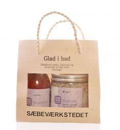 Sæbeværkstedet gavesett glad i bad - Ren Lykke I Am Bad, Brittany, Lavender