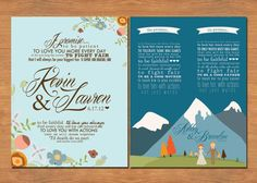 Wedding Vow Keepsake Print (by B is for Brown)