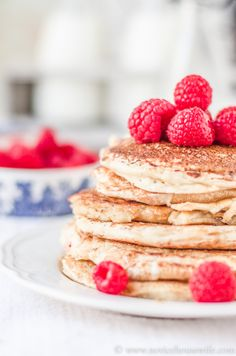 Fluffy Pancakes from Scratch! | The Novice Housewife