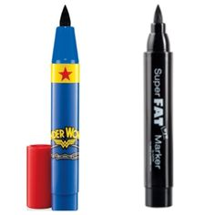 If you loved the Wonder Woman fat eyeliner from MAC, pickup this dupe by NYX. I think this is better than the MAC pen because this tip holds it's shape. I use this all the time! I recommend setting it with some black eyeshadow for all day staying power.  $10
