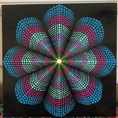 Mandala Canvas, Mandala Artwork, Mandala Painting, Stone Art Painting, Dot Art Painting, Mandala Painted Rocks, Mandala Rocks, Mandala Art Lesson, Indian Art Paintings