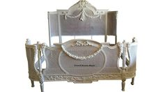 Ruby French Louis XV Cane Bed in White Chic- AFFORDABLE LUXURY! in Home & Garden | eBay