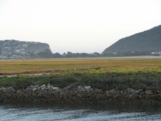 View at low-tide from Thesen Island