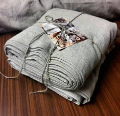 """Rough linen fabric by the meter, stonewashed linen fabric, rough linen, raw flax fabric, grey linen by the yard, 140cm 55"""" gray linen fabric"""