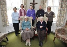 Inspiration: The sisters from Community of St.John the Divine are the inspiration for BBC drama 'Call the Midwife' which has been a huge success