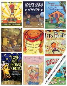 10 books every child will love! Picture books for Hispanic Heritage Month.