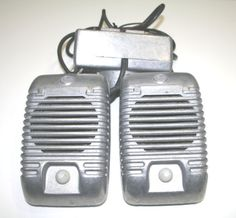 Drive In Movie Speakers Vintage from the 50s and by BeAnnsAttic
