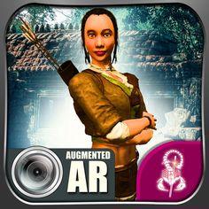 #NEW #iOS #APP Augmented AR Jungle Adventure - Game Scorpion Inc.