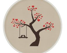 Love bird Сross stitch pattern Instant by MagicCrossStitch on Etsy