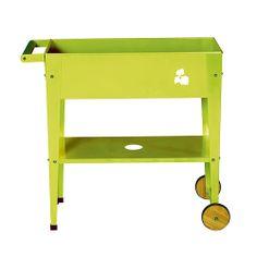 Huerto urbano modelo verde con ruedas http://letsbrico.com/shop/mesa-huerto-urbano-100x40x84cm-rojo.html