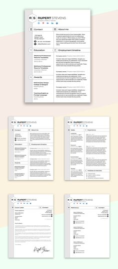 Durham 50 discount (Code Churchill) CV Design CV Template - microsoft word template for resume