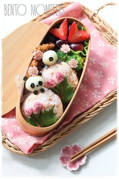 Bento, Monsters: Sakura Panda Bento