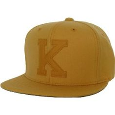King Apparel Kids Letterman Adjustable Yellow Cap d1d9e8ac8b52