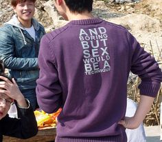 Inappropriate Slogan Tees in Asia | Hint Fashion Magazine
