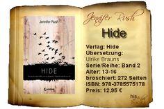 """""""Hide"""" steht dem Vorgänger in Sachen Spannung und Action in nichts nach. Der im ersten Teil so begeisternde Überraschungseffekt wurde durch interessante Wendungen und zahlreiche neue Erkenntnisse ersetzt, die mich ebenso dazu gezwungen haben, das Buch in Windeseile durchzulesen."""